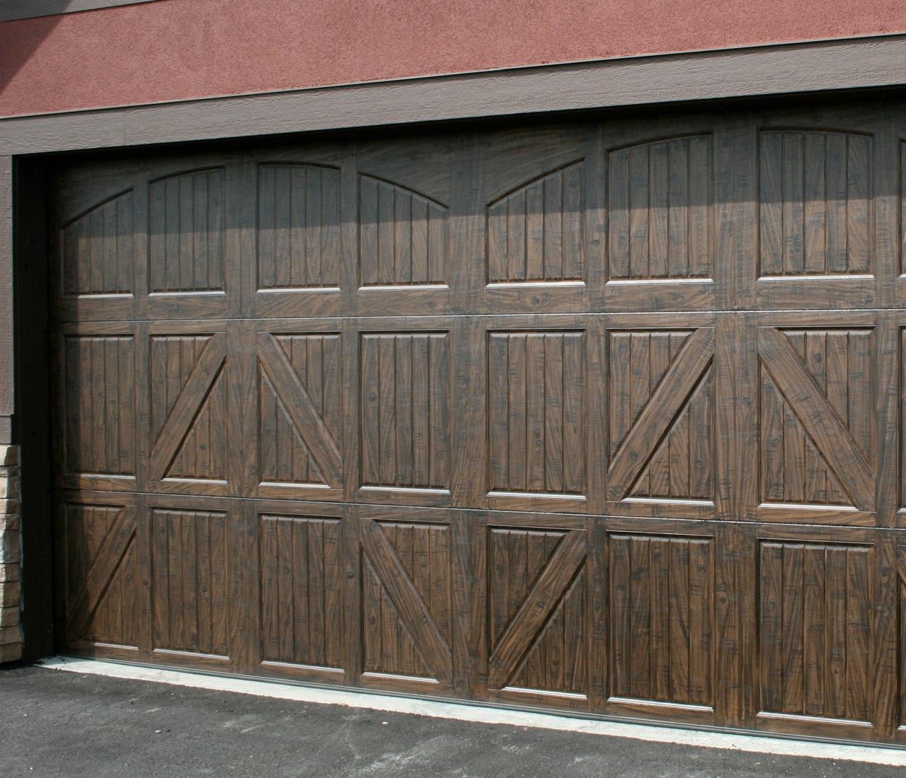 1100 #81524A Residential Garage Door Okotoks Garage Doors High River Garage  wallpaper Residential Garage Doors 38051280